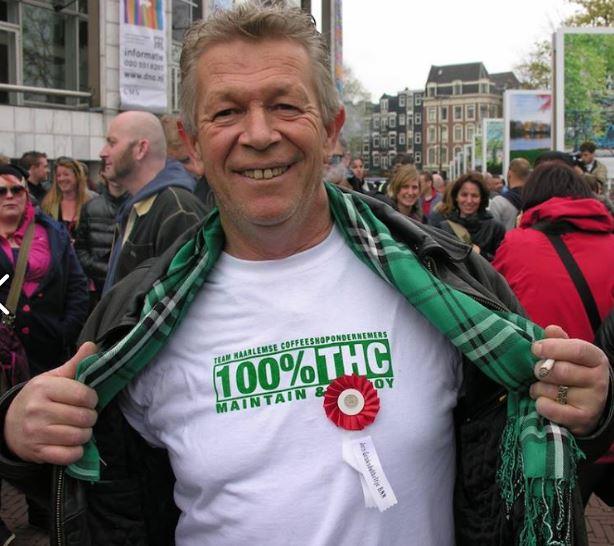 Nol van Schaik, voorvechter van schone wiet in de coffeeshops