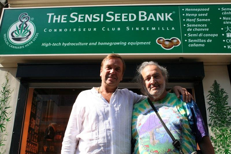 Twee cannabis godfathers op 1 foto: Ben & Jack