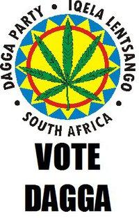 Iqela Lentsango, de Daggapartij van Zuid-Afrika, houdt zich bezig met het indienen van petities en voert actie voor een aanpassing van het beleid