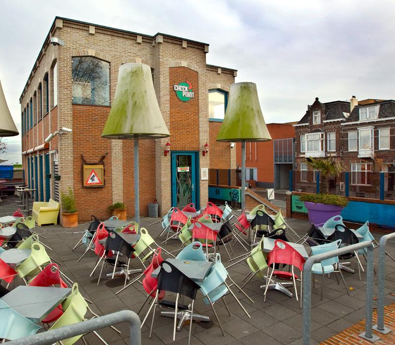 De roemruchte coffeeshop Checkpoint in Terneuzen [foto: VOC]