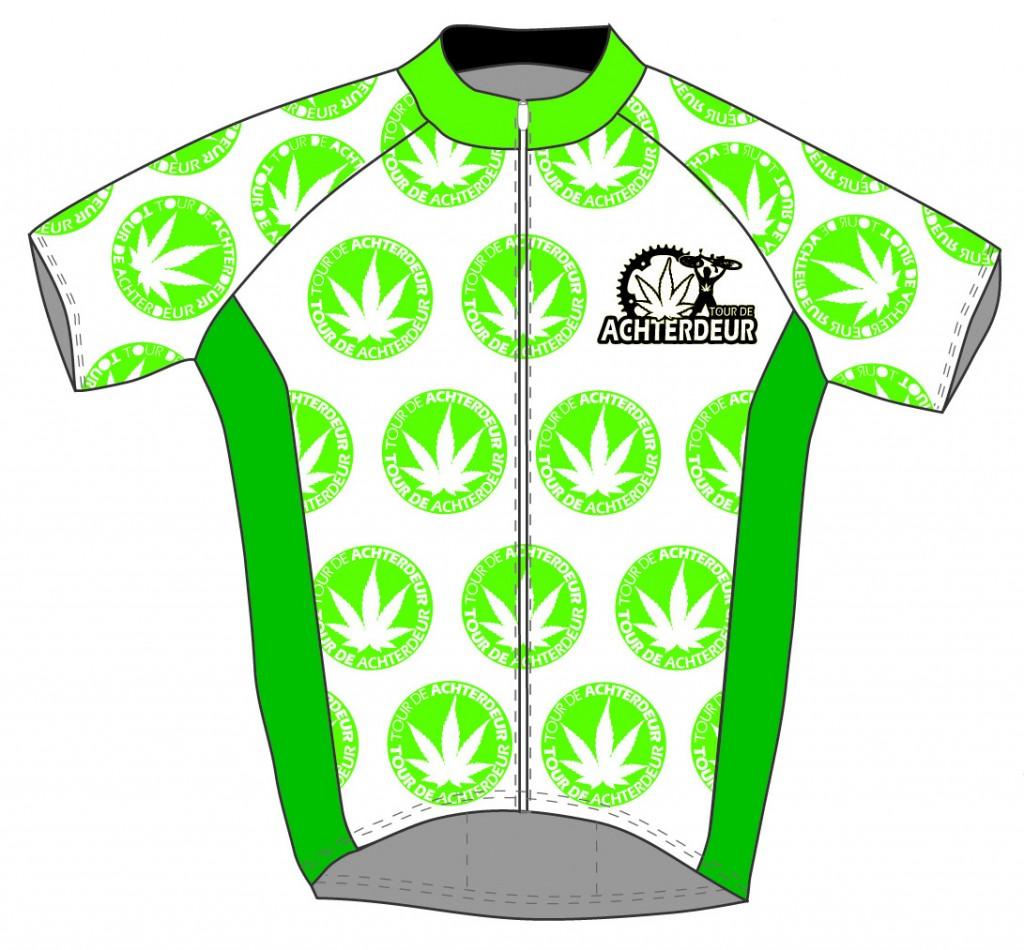 Een nieuw shirt in het wielerpeloton!