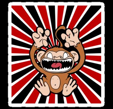 work.4614389.3.sticker,375x360.angry-monkey-v1