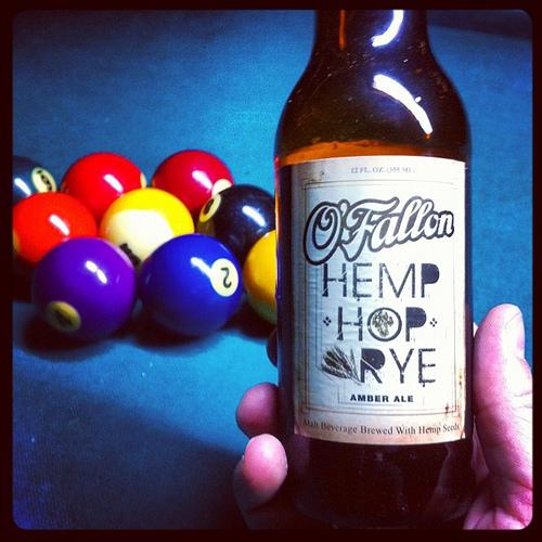 OFallon-Hemp-Hop-Rye, nog een voorbeeld van een goed ontvangen Amerikaans hennepbiertje