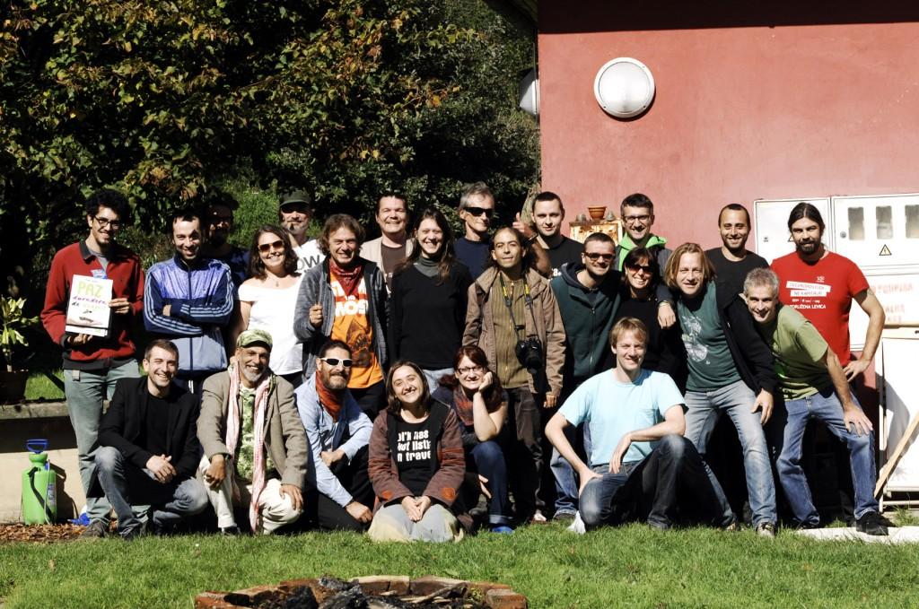 Cannabisactivisten uit diverse Europese landen bijeen in Slovenië onder de Encod-vlag