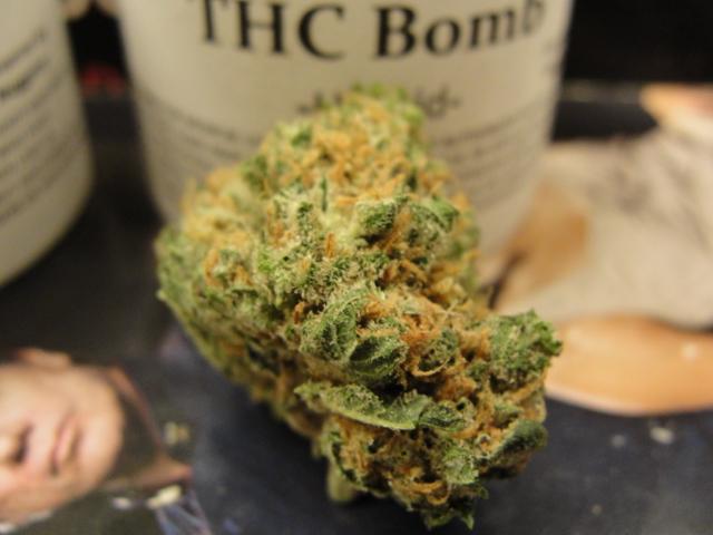 Deze zaak werpt een nieuw licht op de uitdrukking 'THC-bom'...