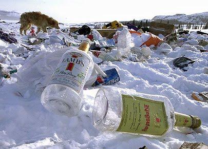 alcoholflessen rommel