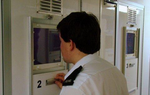 gevangenisbewaker uk