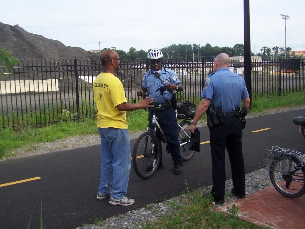 politiemannen DC fiets