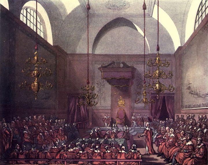 house of lords schilderij