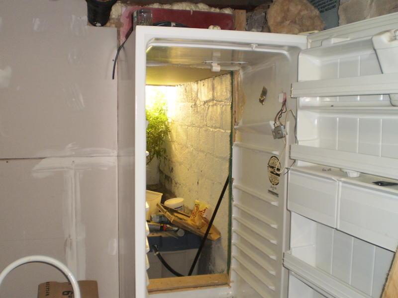 Inspiratie 10 geheime kweekruimtes - Ingang kast ...