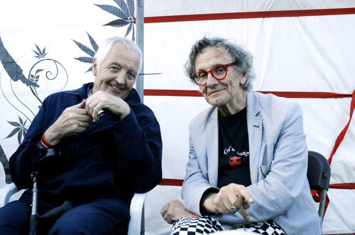 Willem-de-Ridder(rechts)-en-Henk-Poncin-Cannabis-Bevrijdingsdag-2014_foto_db