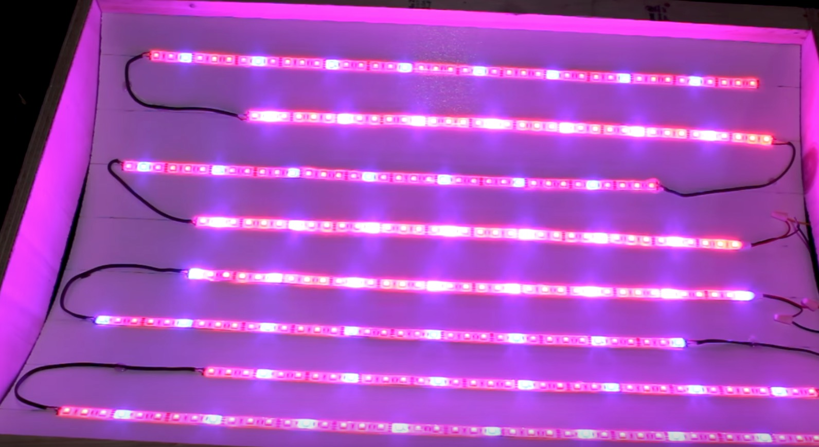maak je eigen led kweeklamp voor weinig cnnbsnl