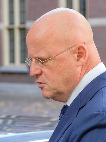 Minister Grapperhaus CNNBS