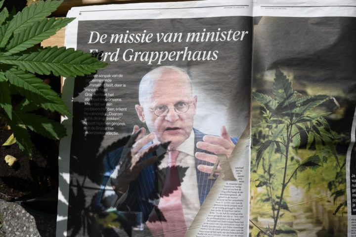 katern in Brabantse kranten over ondermijning grapperhaus