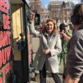 D66 Kamerlid Vera Bergkamp opent CannaStemBus tour!